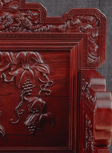 楠荞红精雕细琢方能珍奇