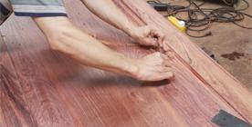 楠荞红刮磨打磨
