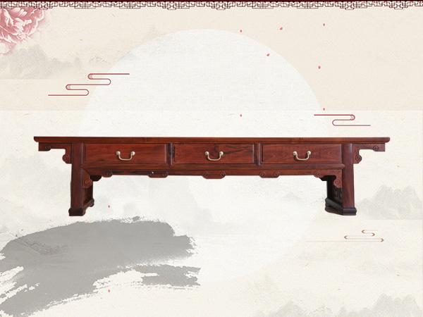 老挝红酸枝【巴里黄檀】明式电视柜