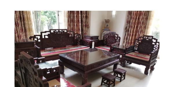 新塘凤凰城别墅红酸枝沙发