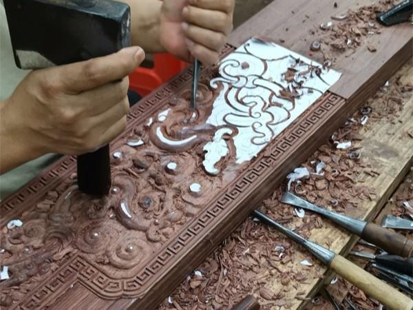 楠荞红木家具厂工艺生产流程