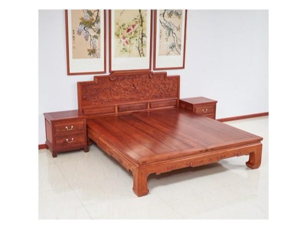 每天8小时,缅甸花梨[大果紫檀]红木大床助你好眠