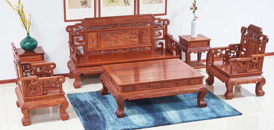 大果紫檀沙发
