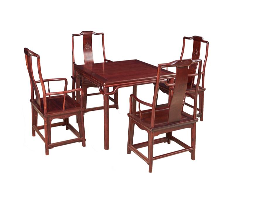 老挝红酸枝【巴里黄檀】八仙桌
