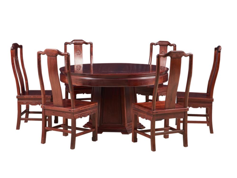 老挝红酸枝【巴里黄檀】明式素餐桌