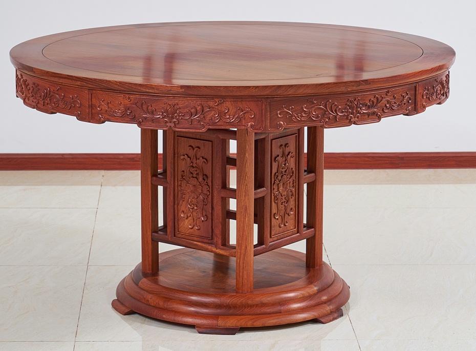 缅甸花梨餐桌