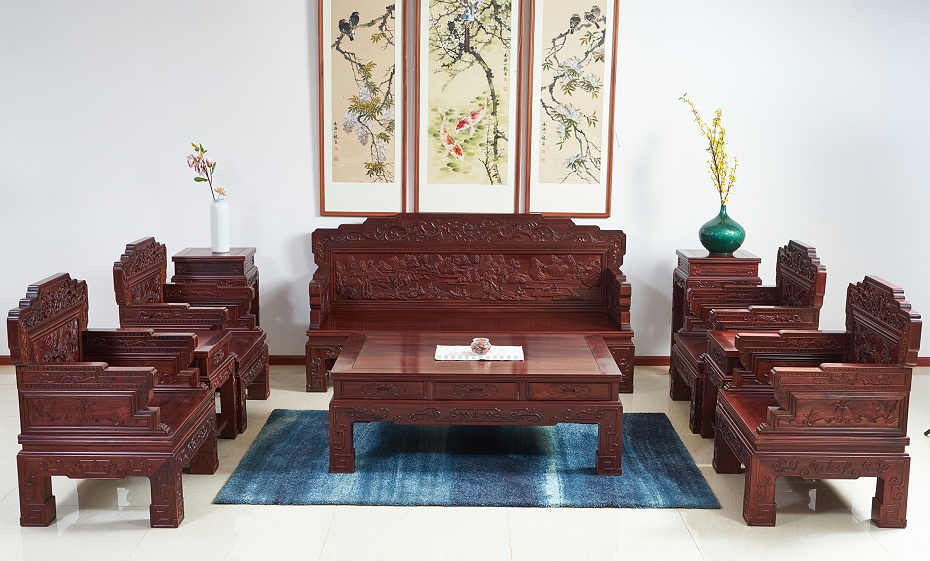 老挝花枝沙发